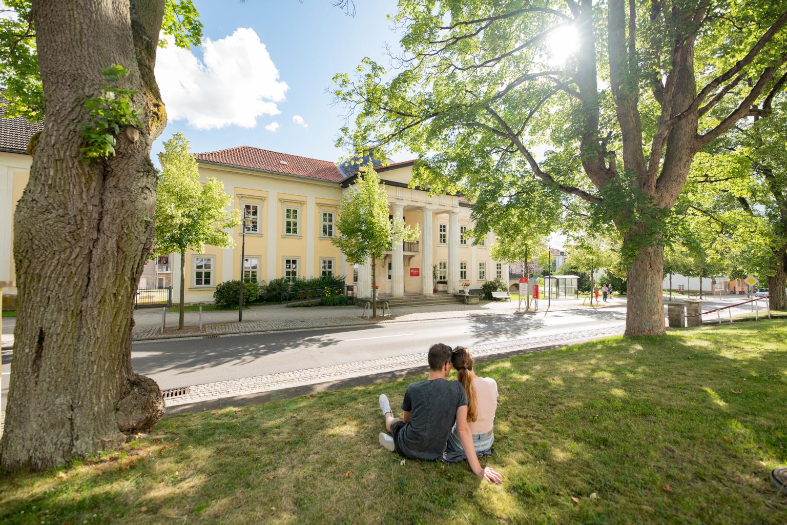 Palais Weimar   Bad Liebenstein  Kurviertel   Rundfahrt