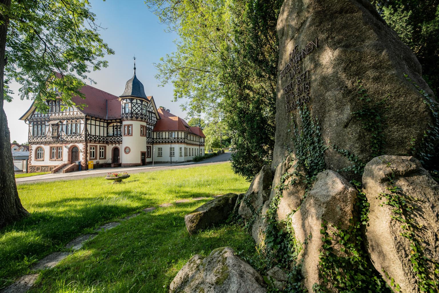 historisches Postamt   Bad Liebenstein   Rundfahrt