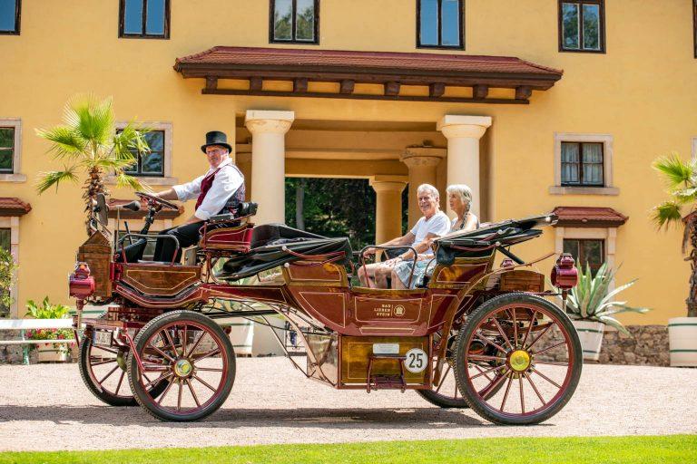 E-Kutsche   Hofmarschallamt   Schloss Altenstein   Rundfahrt